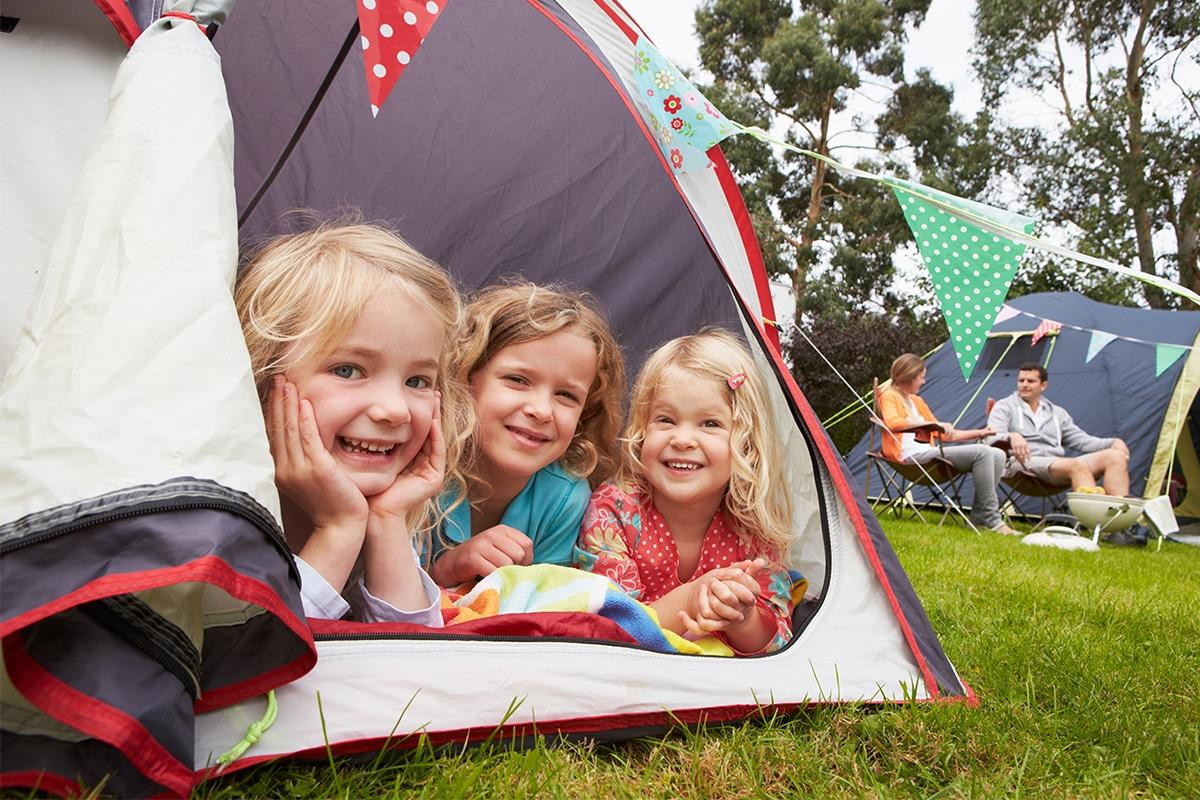 Camping - børn