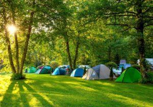 Camping ved Gardasøen