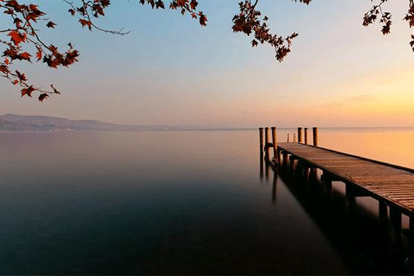 Efterår ved Gardasøen
