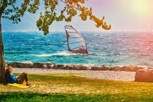 Sommer ved Gardasøen