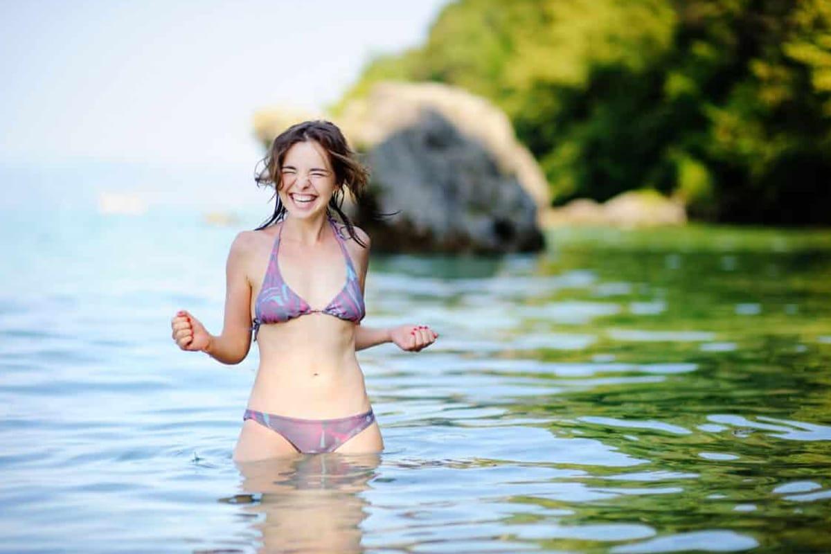 Vejret ved Gardasøen - vandtemperatur