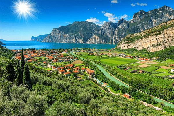 Gardasøens natur
