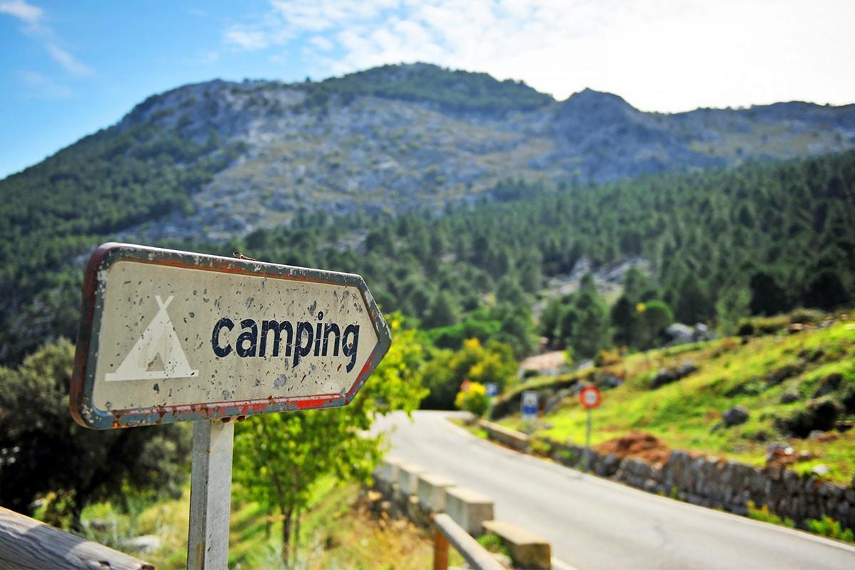 Gardasøen - camping