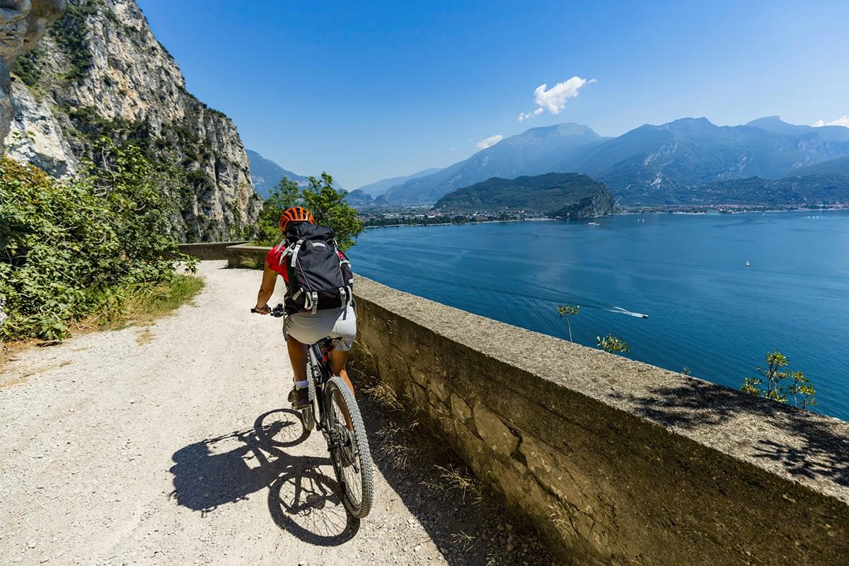Gardasøen - cykling